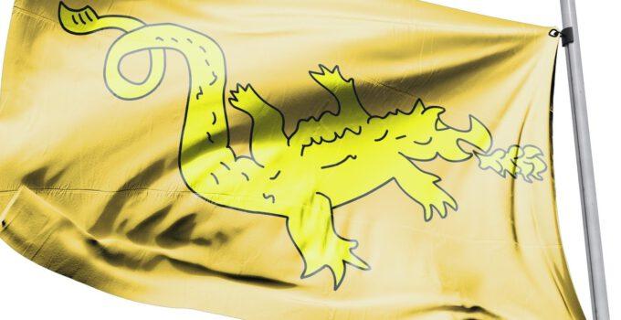Asya Hun devleti Bayrağı