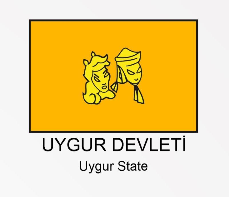 Uygur Devleti Uygurlar bayrağı